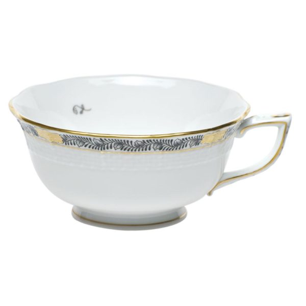 Chinese Bouquet Garland Tea Cup